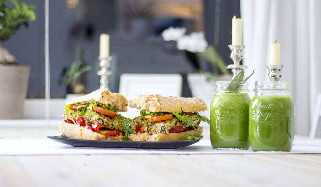 Zucchini Tofu Sandwich